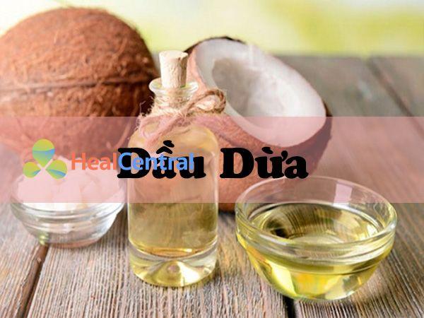 Dầu dừa chứa vitamin E cung cấp độ ẩm, tiêu diệt sắc tố Melanin rất hữu hiệu trong điều trị thâm sạm
