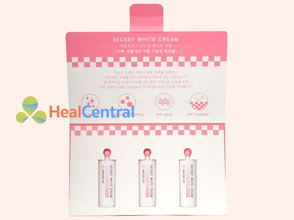 Kem làm hồng cô bé Hàn Quốc Secret White Cream được bình chọn là sản phẩm làm hồng nhanh nhất