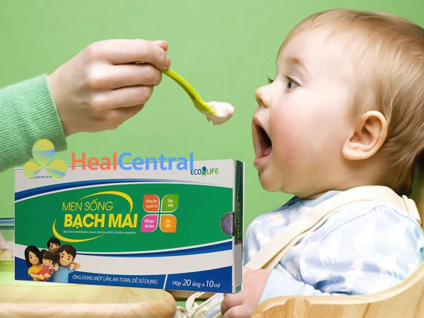 Men Sống Bạch Mai - giúp trẻ ăn ngon miệng hơn