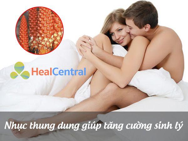 Nhục Thung Dung - tăng cường sinh lý co cả nam và nữ