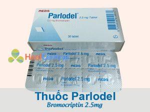 Thuốc Parlodel 2,5mg