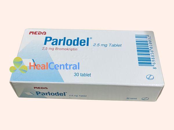 Thuốc Parlodel chứa thành phần Bromocriptine 2,5mg