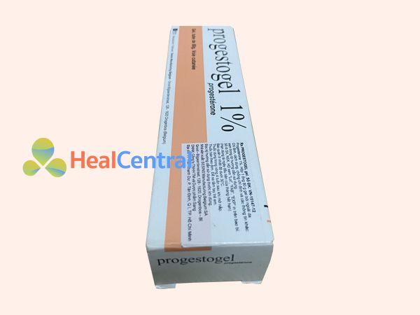 Hình ảnh hộp thuốc Progestogel 1%