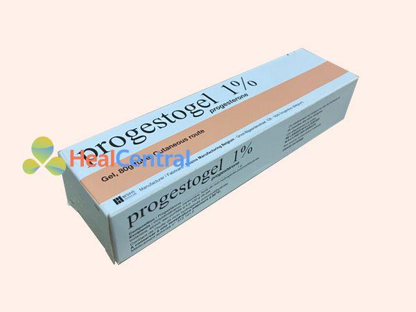 Thuốc Progestogel 1% bào chế dạng kem bôi