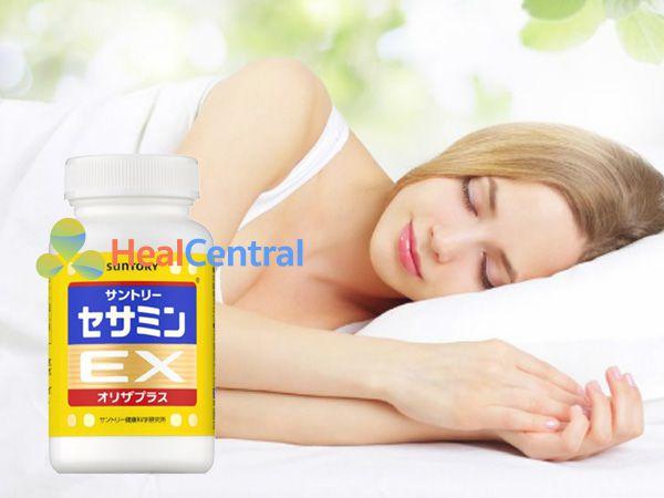 Sesamin EX giúp ăn ngon, ngủ ngon hơn