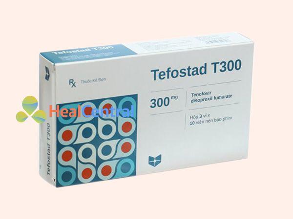 Tefostad T300 bào chế dưới dạn viên nén bao phim