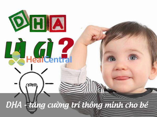 DHA - cần thiết cho cả mẹ và bé