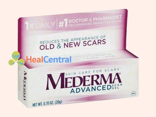 Thuốc trị sẹo rỗ trên mặt Mederma