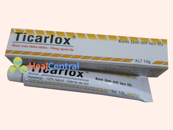 Thuốc trị sẹo lõm lâu năm Ticarlox
