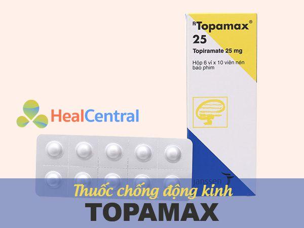 Thuốc chống động kinh Topamax