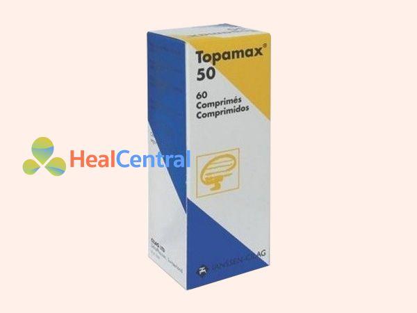 Hình ảnh hộp thuốc Topamax 50mg