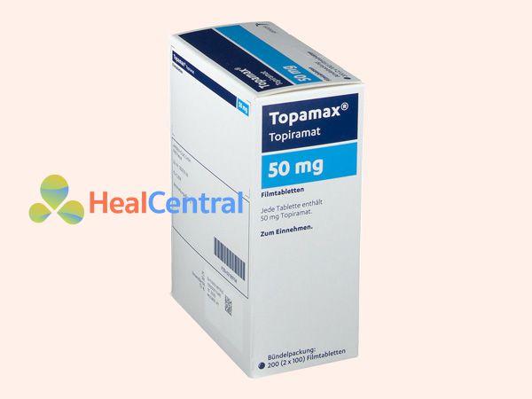 Hình ảnh hộp thuốc Topamax 50mg Janssen-Cilag