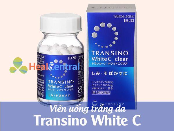 Viên uống trắng da Transino White C