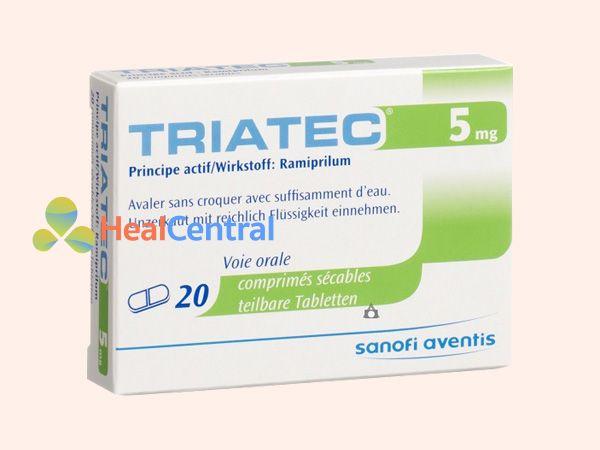 Thuốc Triatec vỉ 20 viên