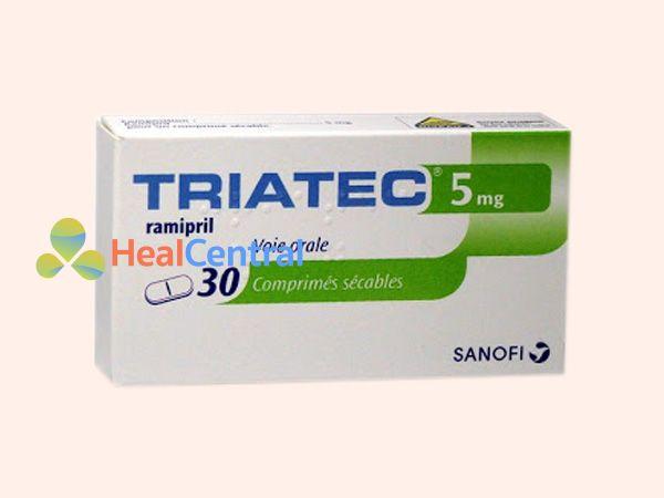 Hình ảnh hộp thuốc Triatec