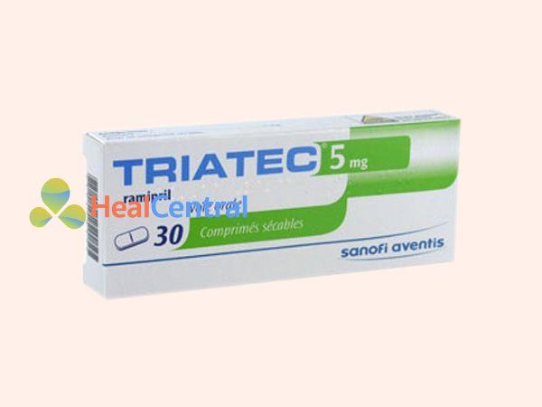 Thuốc Triatec - điều trị tăng huyết áp
