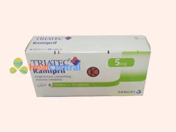 Thuốc Triatec sản xuất bởi Công ty Sanofi