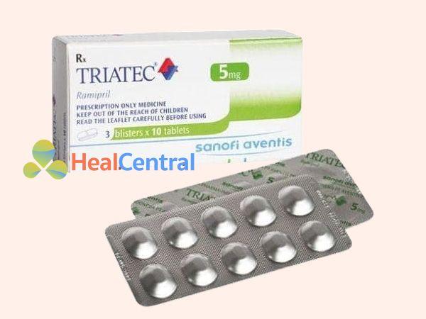 Hình ảnh vỉ thuốc Triatec