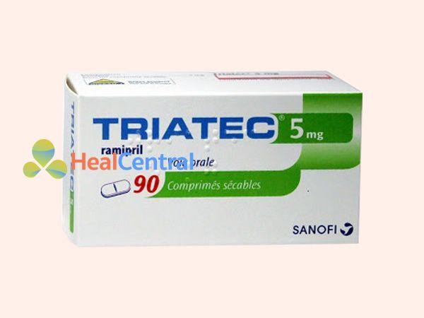 Thuốc Triatec vỉ 90 viên