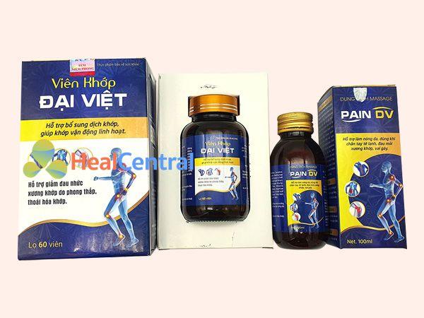 Viên khớp Đại Việt bào chế từ các thành phần thảo dược