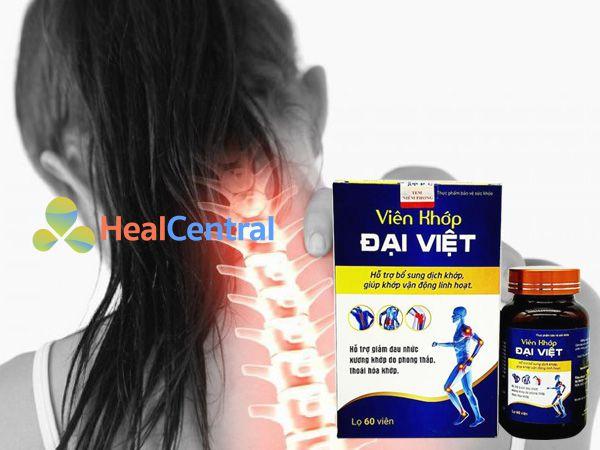 Viên khớp Đại Việt - giảm đau nhức xương khớp