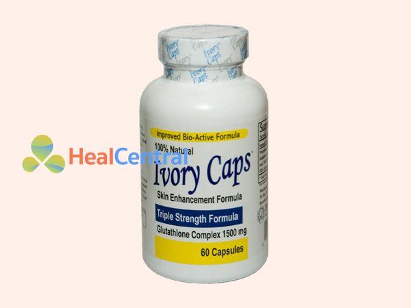 Thuốc trắng da Ivory Caps của Mỹ