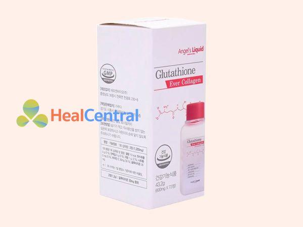 Viên uống trắng da Glutathione Ever Collagen