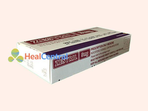 Thuốc Zestril 5mg - điều trị tăng huyết áp