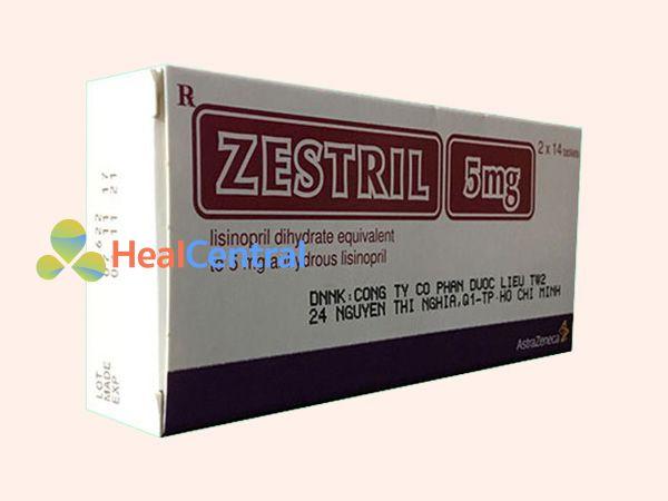 Thuốc Zestril 5mg - điều trị cho bệnh nhân suy tim ứ huyết