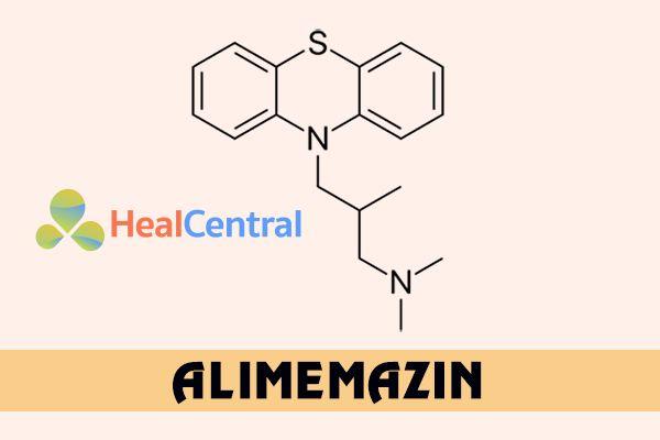 Alimemazin là thành phần chính tạo nên tác dụng của thuốc Theralene