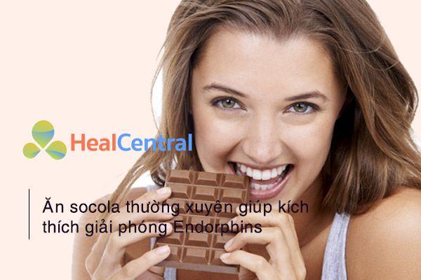 Ăn socola để không