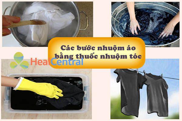 Bạn có thể nhuộm quần áo bằng thuốc nhuộm tóc tại nhà