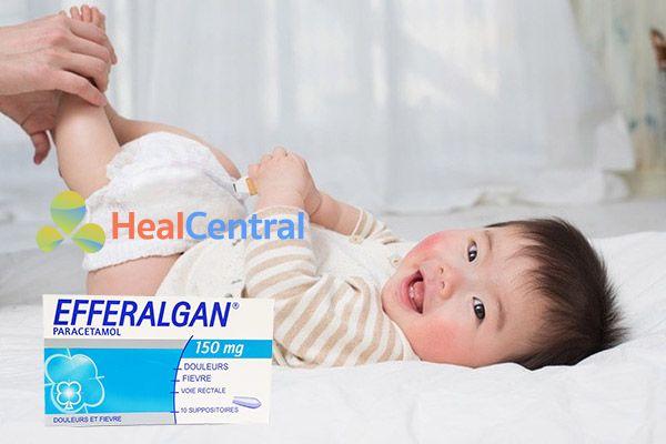 Cách sử dụng thuốc đặt Efferalgan