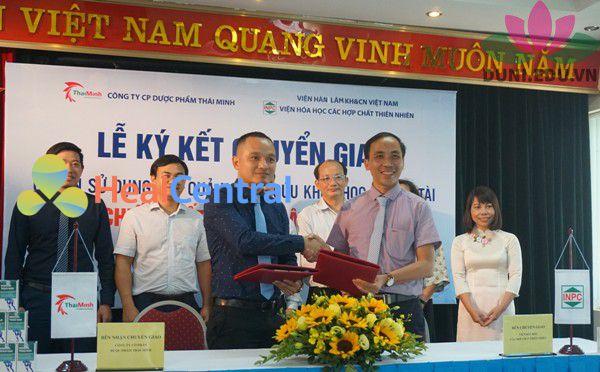Lễ chuyển giao công nghệ của Viện Hàn Lâm KH&CN Việt Nam