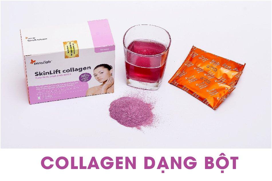 Sản phẩm bổ sung Collagen dạng bột