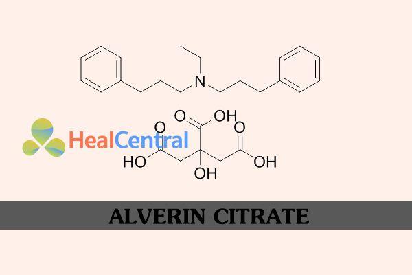 Công thức hóa học của Alverin Citrate
