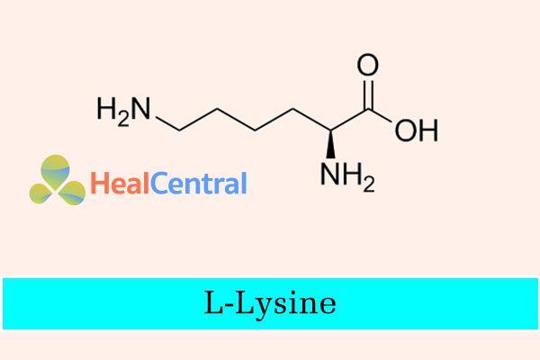 Công thức hóa học của L - Lysine