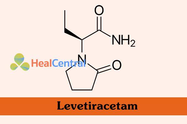 Công thức hóa học của Levetiracetam