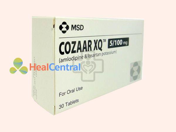 Tác dụng phụ khi dùng Cozaar XQ