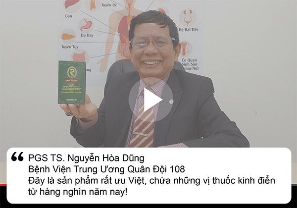 PGS.TS Nguyễn Hòa Dũng đánh giá về Dạ dày Đinh Hoàng