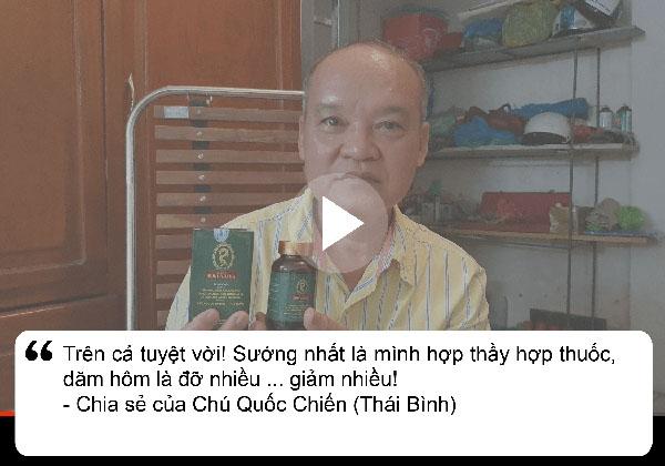 Bệnh nhân Chiến chia sẻ về dạ dày Đinh Hoàng