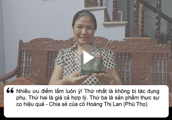 Bệnh nhân Lan chia sẻ về dạ dày Đinh Hoàng
