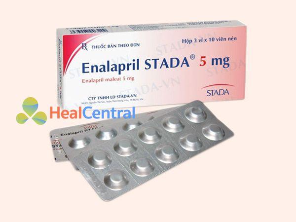 Enalapril 5mg Stada giúp điều tị tăng huyết áp