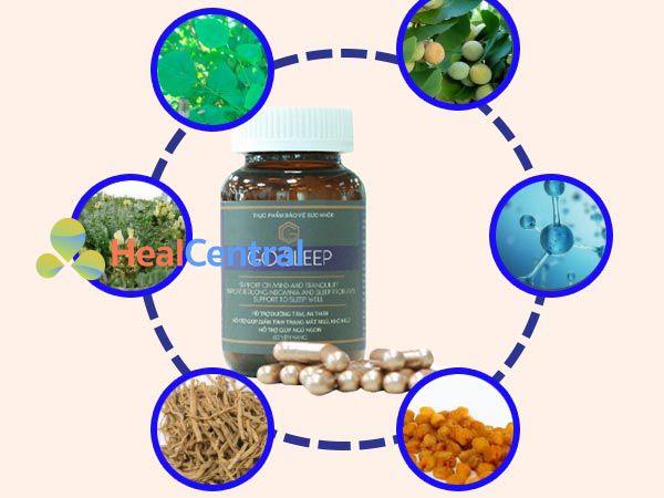 Thành phần thuốc ngủ Gosleep