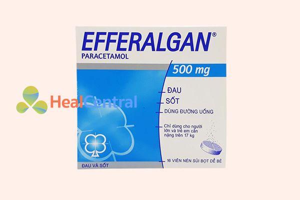 Hộp thuốc Efferalgan