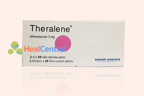 Hộp thuốc Theralene 5mg