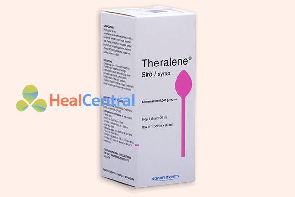 Hộp thuốc Theralene Siro