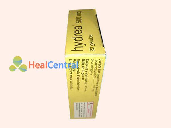 Thuốc Hydrea 500 chứa thành phần Hydroxycarbamide