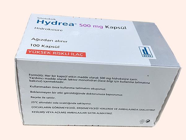 Thuốc Hydrea 500 điều trị ung thư