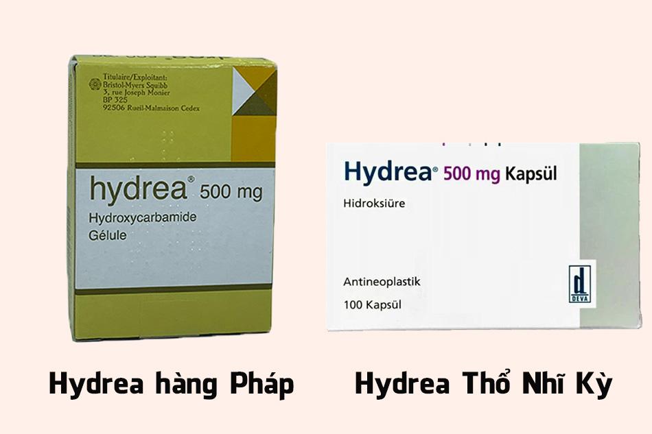 Thuốc Hydrea 500mg của Pháp và của Thổ Nhĩ Kỳ